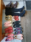Sandalias zapatillas y botas talla 41 mujer