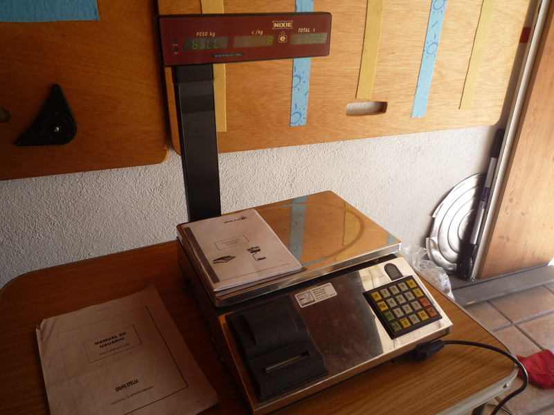 maquina pesadora  registradora NIXIE