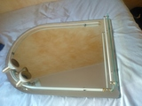Espejo con balda y luz