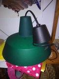 Regalo lámpara de plástico