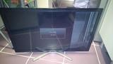 televisión con golpe
