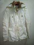 Abrigo blanco de mujer M(Eztuinaga)