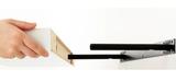 Dos baldas blancas LACK de Ikea (110cm)