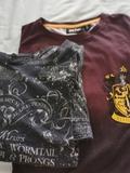 2 camisetas Harry Potter