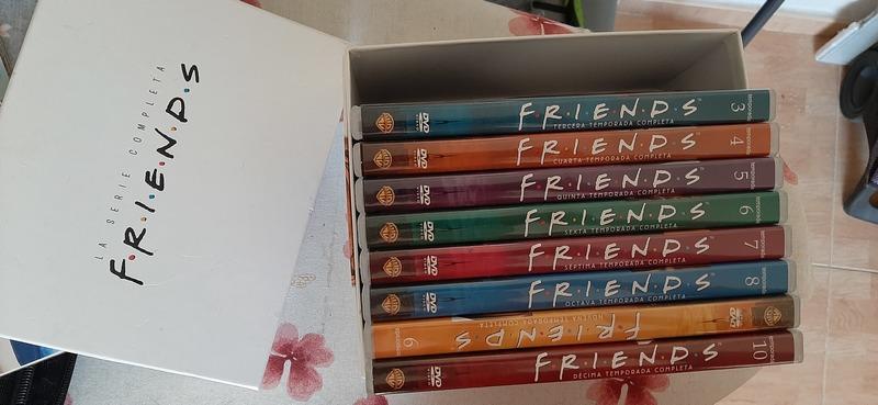 Serie casi completa DVD Friends