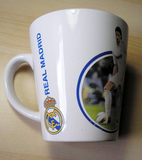 Taza cerámica del Real Madrid (a Lucrecia22)
