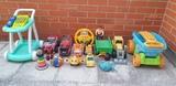 Lote de juguetes varias edades