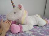 peluche mascota unicorn