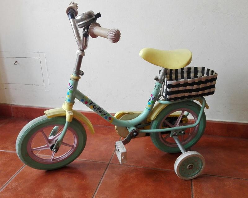 Bici con ruedines hasta 4 años