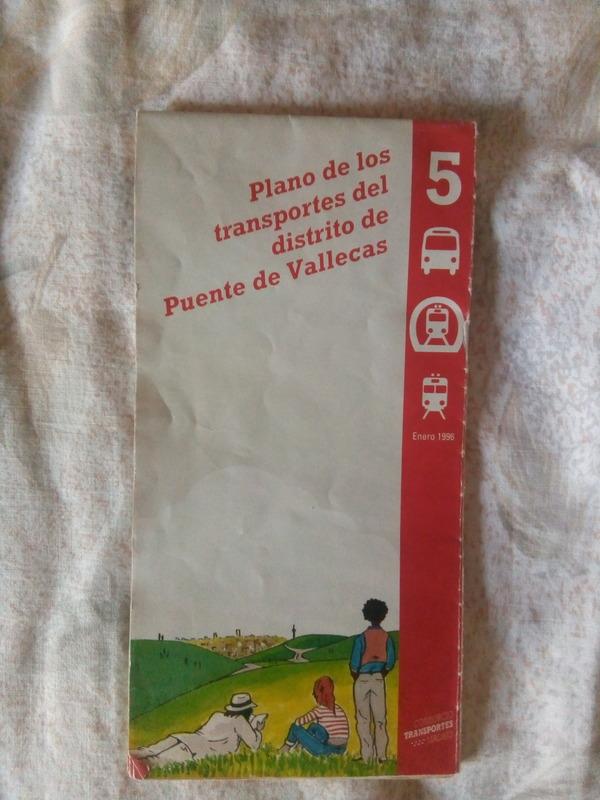Regalo plano transportes de 1996