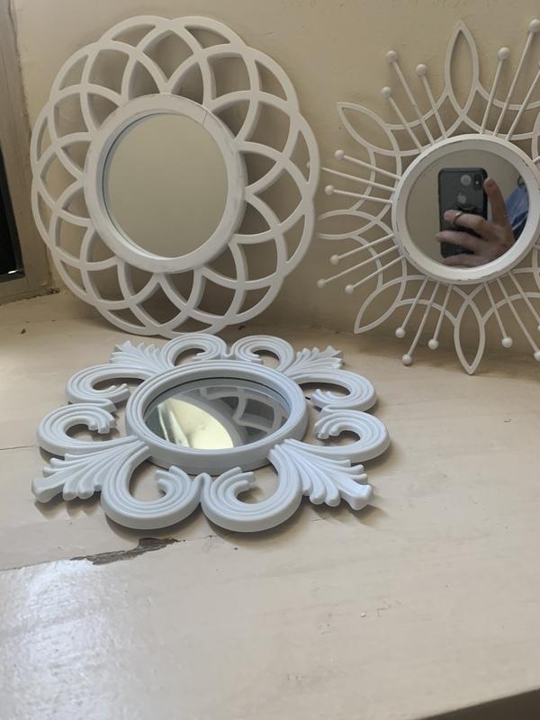 3 espejitos redondos