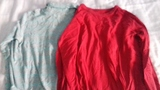 Lote 2 camisetas manga larga talla 8