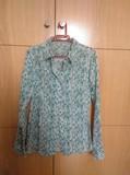 Camisa florecitas verdes