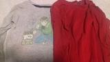 Lote 2 camisetas manga larga tallas 4 y 5-6