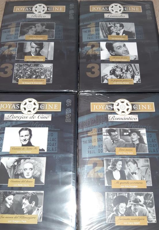 4 DVDS.  JOYAS DEL CINE