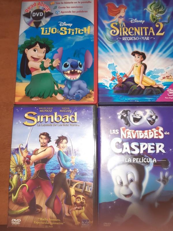 LOTE Nº 1 - 4 DVDS.