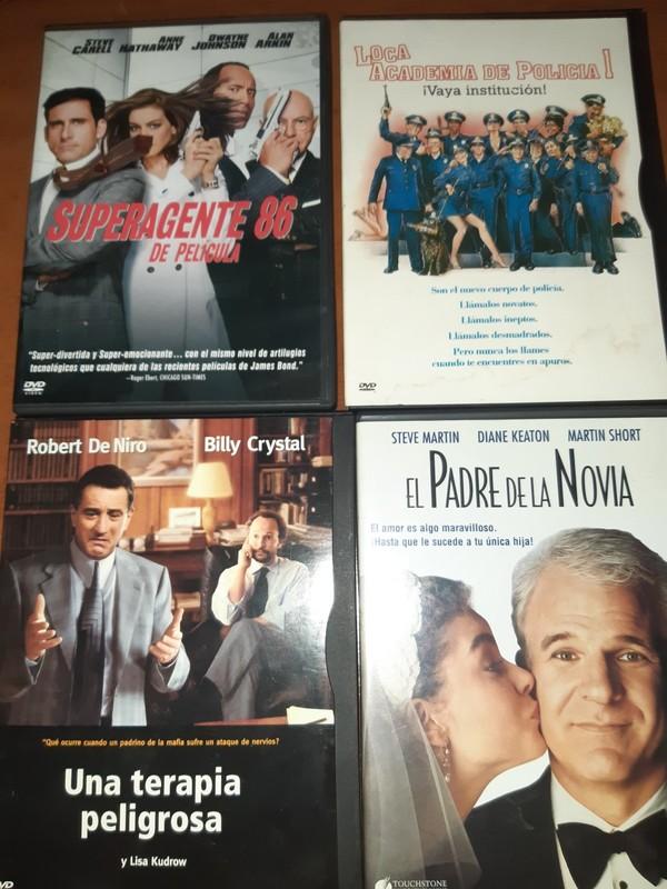 LOTE Nº 3 - 4 DVDS