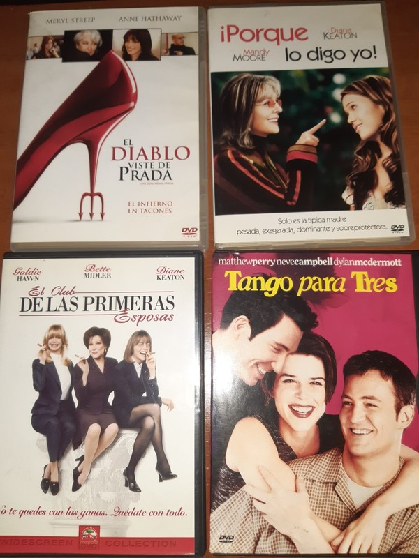 LOTE Nº 5 - 4 DVDS