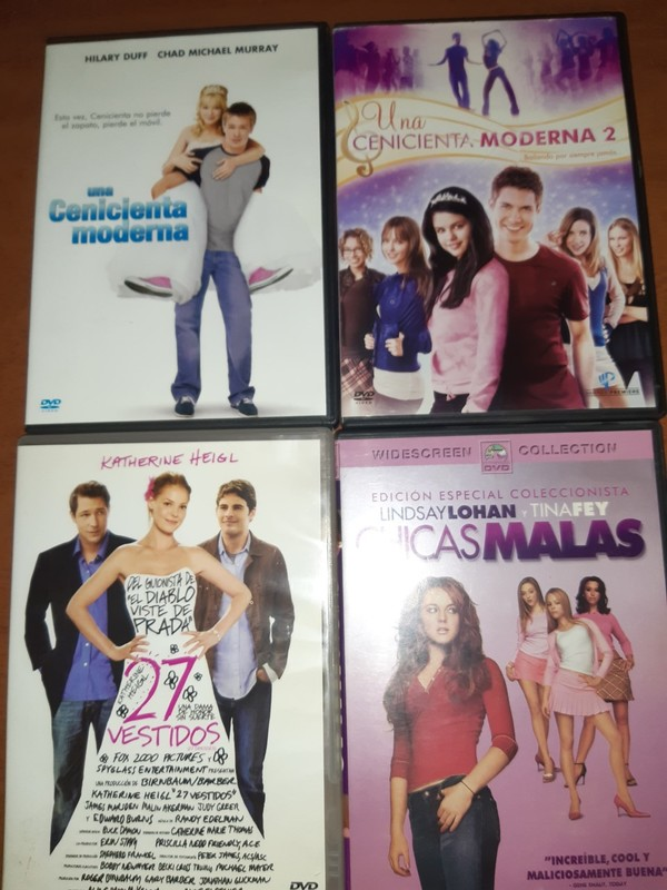 LOTE Nº 7 - 4 DVDS