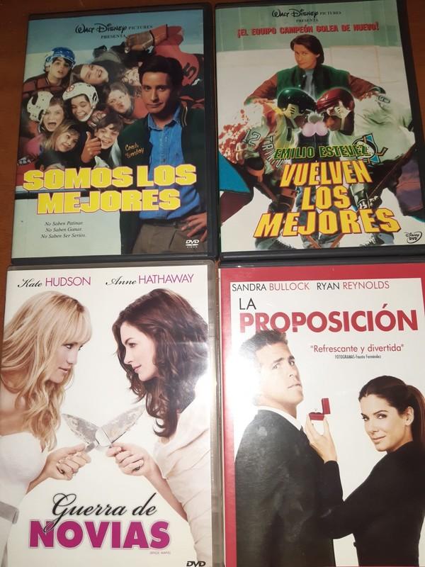 LOTE Nº 8 - 4 DVDS