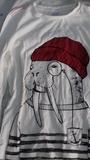 Camiseta manga larga talla 134 o 9 años
