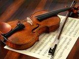 Un violín