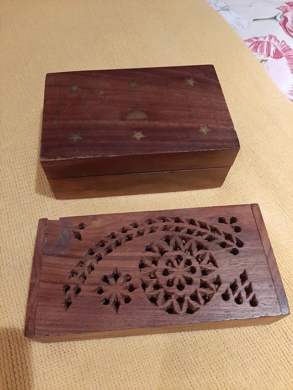 2 cajitas de madera