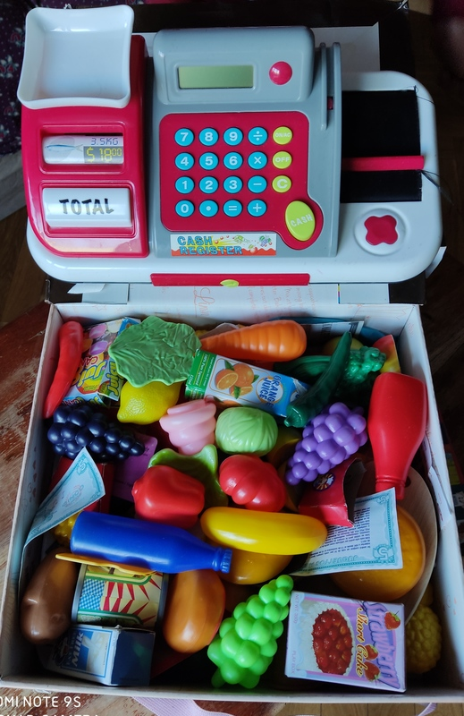 Caja registradora juguete