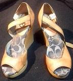 Sandalias de tacón alto grises Nº 36.