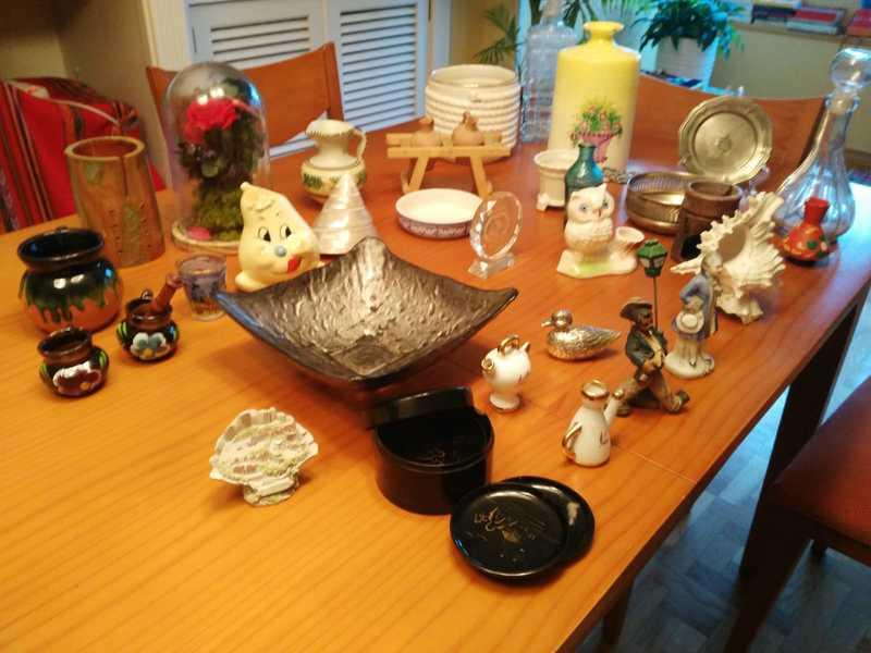 32 adornos objetos decoración