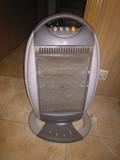 Calefactor en funcionamiento