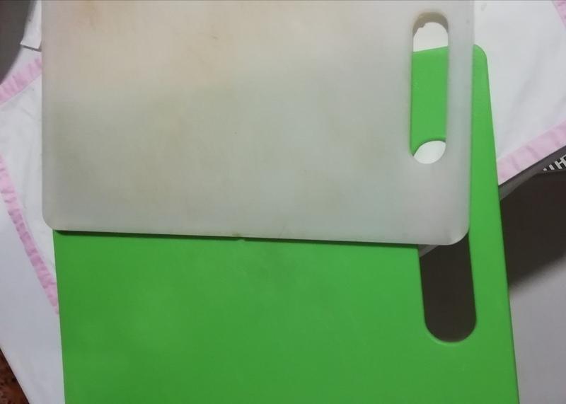 Dos tablas de cortar