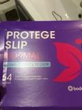 Caja abierta pero entera (o casi) de proteje-slips