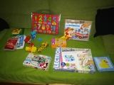 Lote juguetes y libros niños sobre 2años