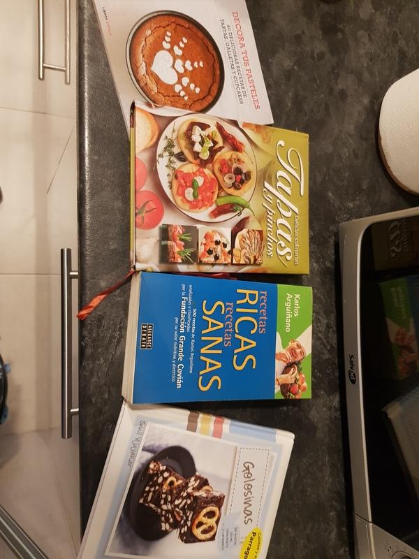Regalo libros de cocina
