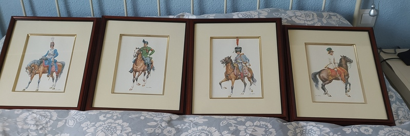 4 litografias