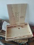 Caja de madera vino