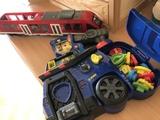 """Tren y juguete interactivo """"La patrulla canina"""""""