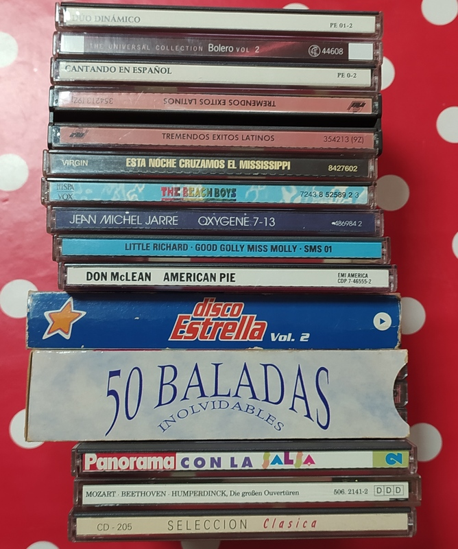 Lote CDS originales