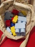 Piezas grandes construcción de plástico
