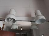 Regalo foco doble, para pared o techo