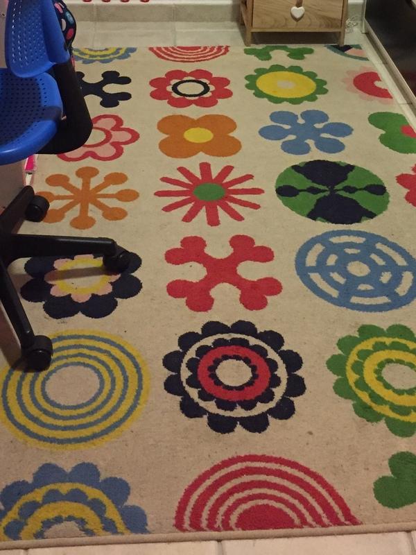 Regalo alfombra de Ikea