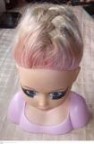 Busto de muñeca para peinado y maquillaje