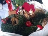 Regalo figuras y decoración navidad