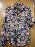 Blusa estampada flores señora talla L o 40