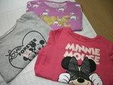 Camisetas niña, talla 2-3 años