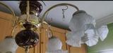 Lámpara de cerámica y metal