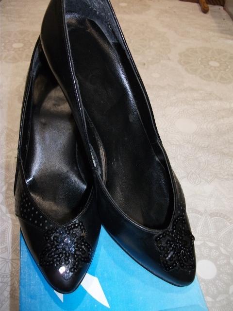 Zapatos tacón nº 35