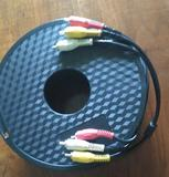 Cable audio (2 canales) vídeo (S-vídeo) de 10 metros
