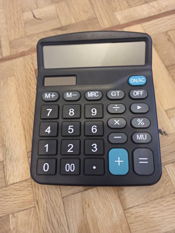 Calculadora con botones grandes